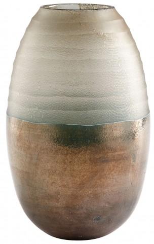 Around The World Bronze Vase