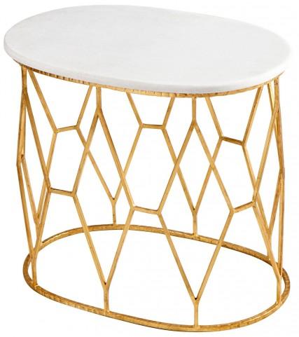 Telex Gold Leaf Table