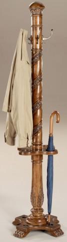 Laird Vintage Oak Costumer