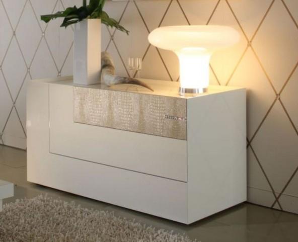 Diamond Ivory 3 Drawer Dresser