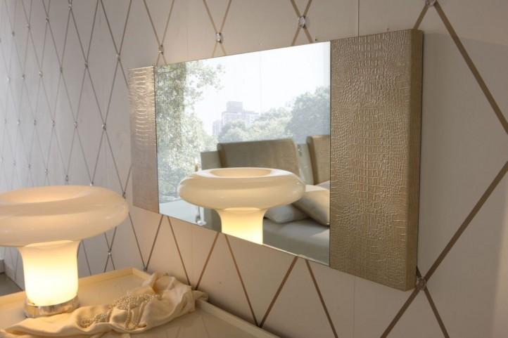 Diamond Ivory Mirror