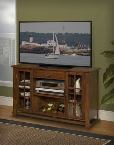 Madera African Chestnut Entertainment Console