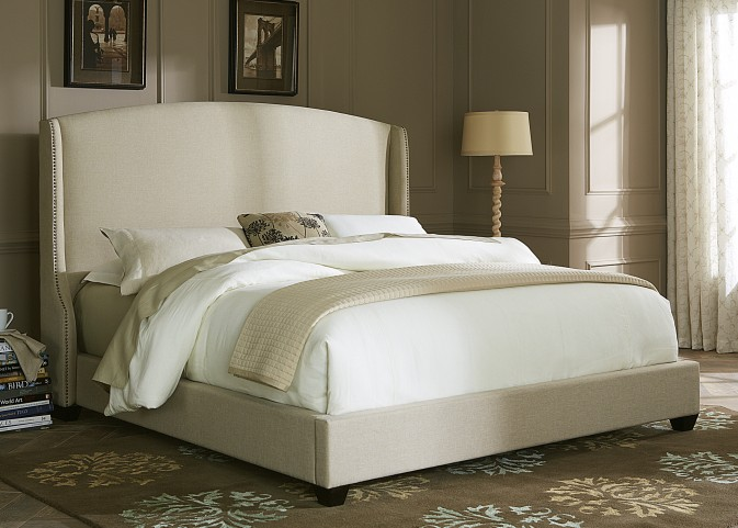Shelter Queen Upholstered Bed