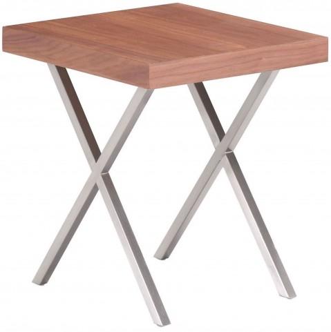 Renmen Walnut Side Table