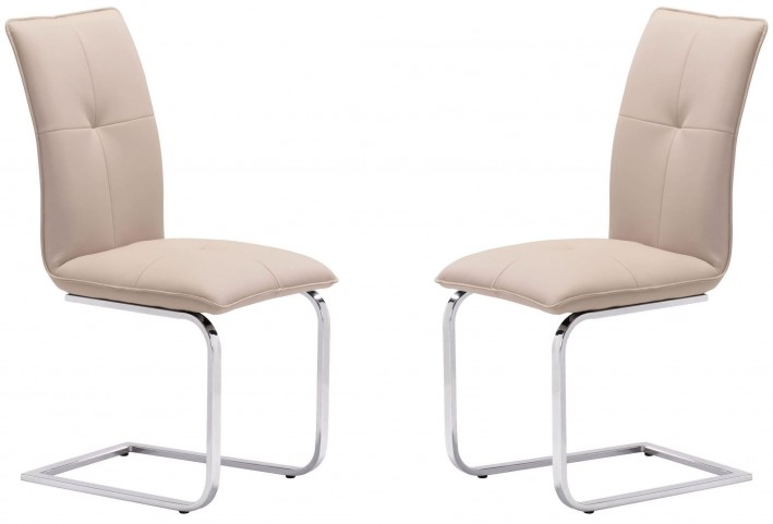 Anjou Taupe Dining Chair Set of 2