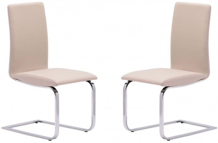 Lasalle Taupe Dining Chair Set of 2
