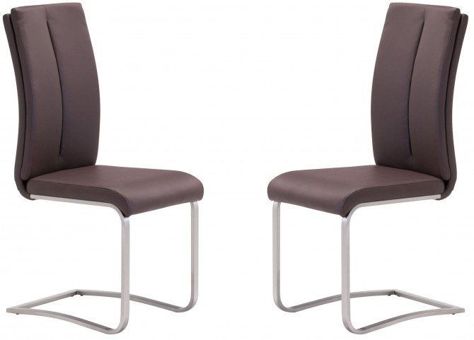 Rosemont Brown Dining Chair Set of 2