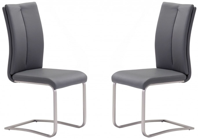 Rosemont Gray Dining Chair Set of 2