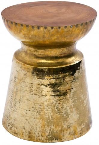 Taj Brass Stool