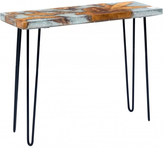 Fissure Natural Console Table