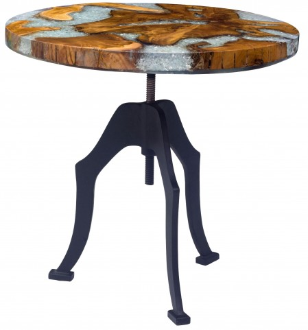 Fissure Natural Side Table