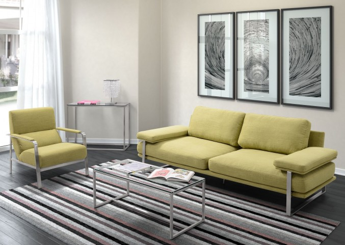 Jonkoping Lime Living Room Set