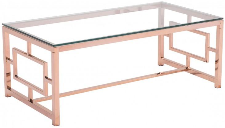 Geranium Rose Gold Coffee Table