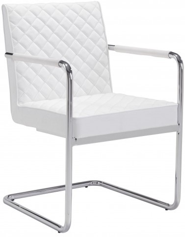Quilt White Dining Chair