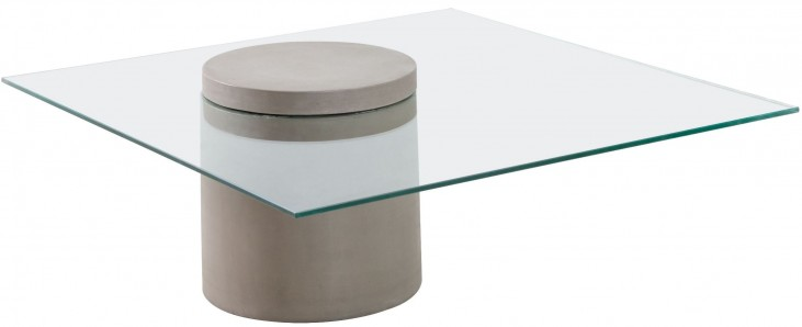 Monolith Cement Coffee Table