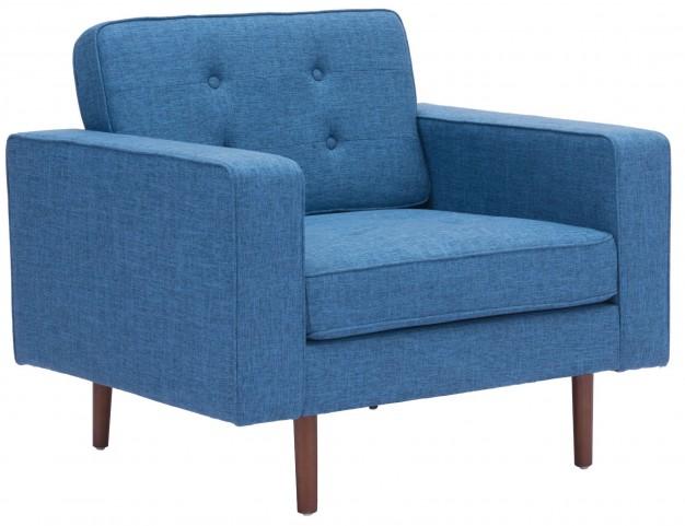 Puget Blue Arm Chair