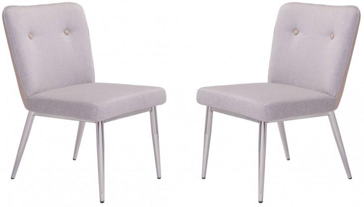 Hope Khaki Dining Chair Set of 2