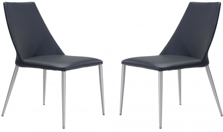 Whisp Black Dining Chair Set of 2