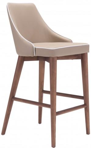 Moor Chair Beige Counter Chair