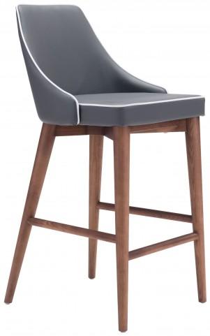 Moor Dark Gray Counter Chair