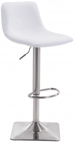 Cougar White Bar Chair