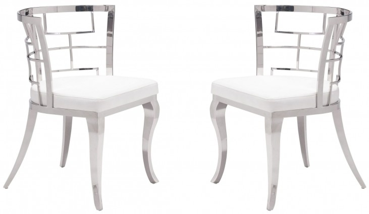 Quince White Dining Chair Set of 2