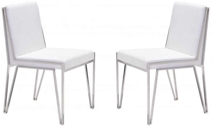 Kylo White Dining Chair Set of 2