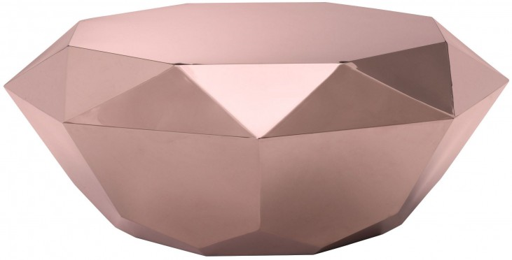 Gem Rose Gold Coffee Table