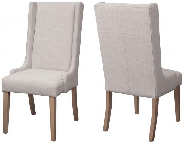 Solomon Natural Mango Side Chair Set of 2