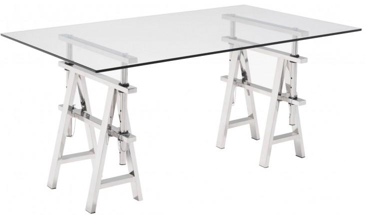 Lado Chrome Desk