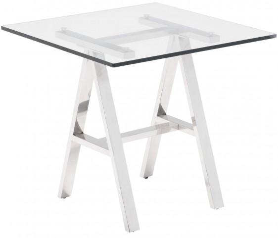 Lado Chrome Side Table