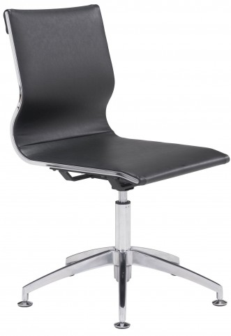 Glider Black Conference Chair