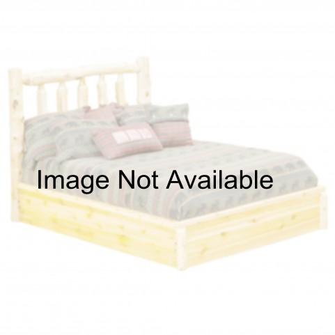 Vintage Cedar King Platform Bed