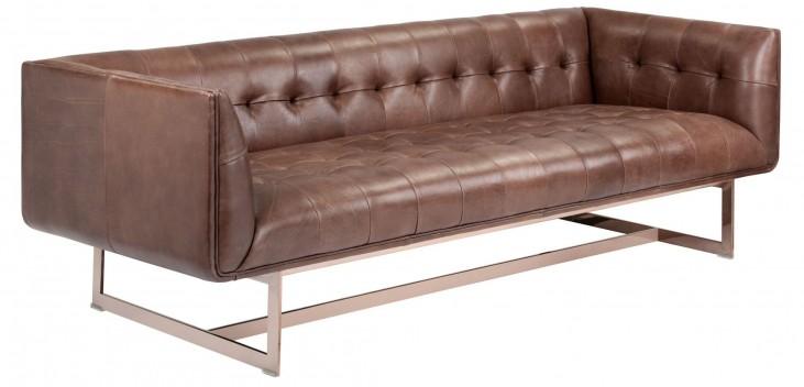 Matisse Saddle Leather Sofa