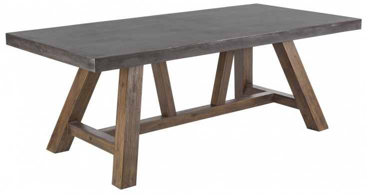Cooper Light Espresso Rectangular Dining Table