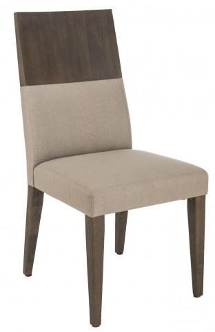 Camila Linen Fabric Dining Chair Set of 2