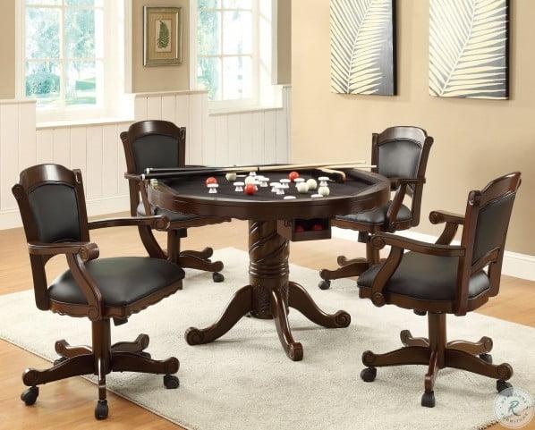 100872 Black Arm Chair
