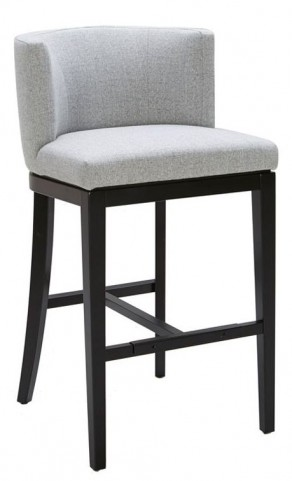 Hayden Marble Fabric Barstool
