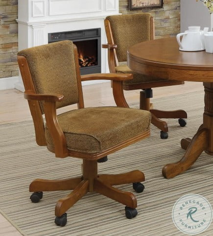 Mitchell Olive Brown Game Chair