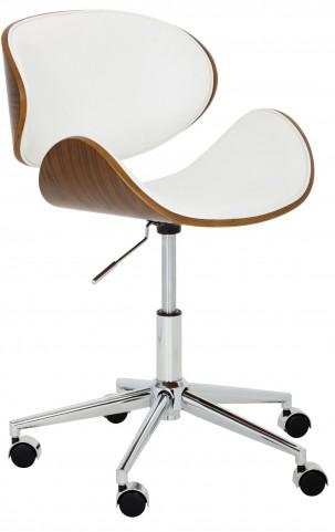 Quinn White Office Chair