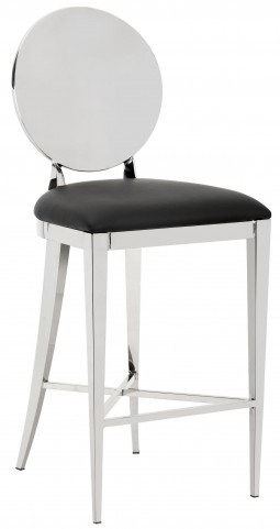 Marissa Black Counter Stool