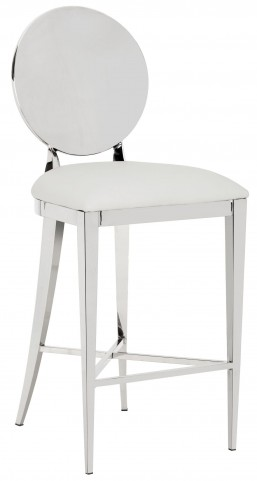 Marissa White Counter Stool
