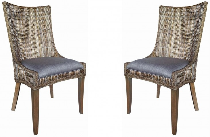 Matisse Woven Dining Side Chair Set of 2