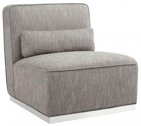 Caledon Hannigan Fog Fabric Swivel Chair