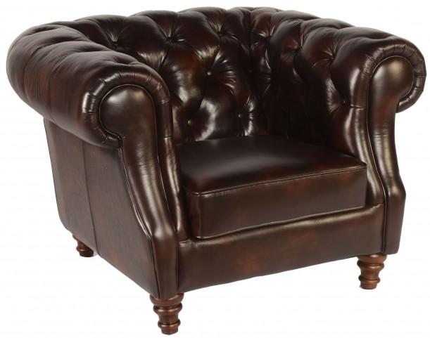 Beaufort Toberlone Leather Chair