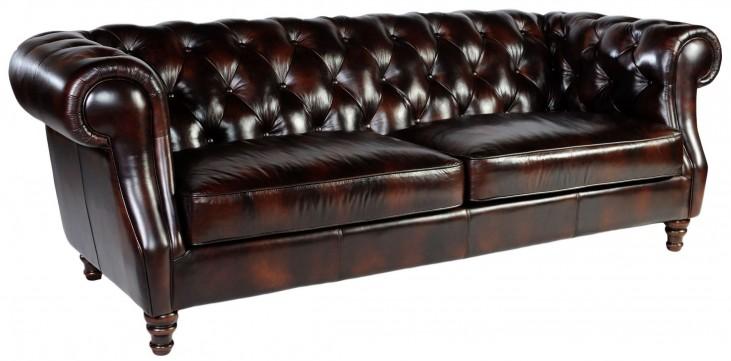 Beaufort Toberlone Leather Sofa