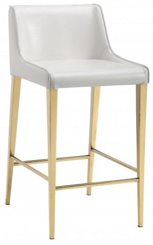 Lawrence Almond Counter Stool
