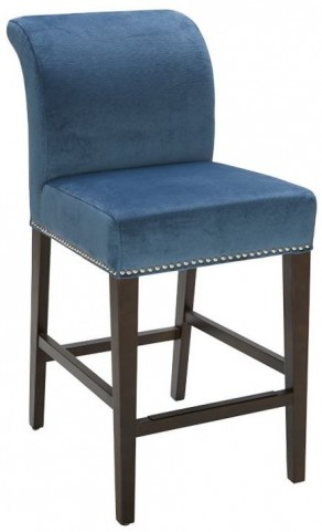 Prado Blue Ink Counter Stool