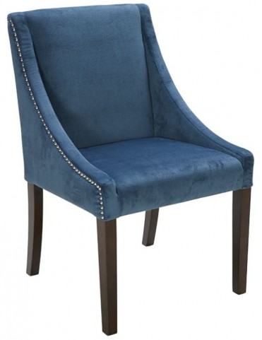 Lucille Blue Ink Dining Chair