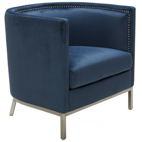 Wales Blue Ink Armchair